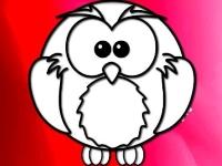 Флеш игра Милые зверушки: Раскраска