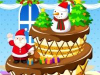 Флеш игра Милый Рождественский торт
