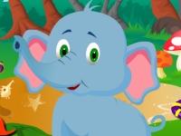 Флеш игра Милый слоненок Джамбо