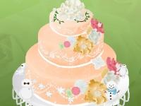 Флеш игра Милый свадебный торт