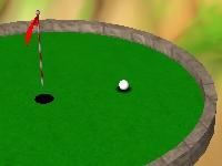 Флеш игра Мини гольф на острове