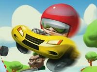Флеш игра Мини гонка 3D
