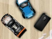 Флеш игра Мини колёса: Парковка