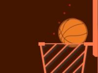 Флеш игра Минималистичный баскетбол