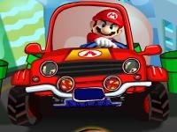 Флеш игра Мир Марио: Трафик
