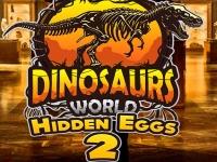 Флеш игра Мир динозавров: Поиск яиц 2