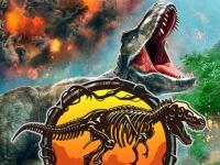 Флеш игра Мир динозавров: Поиск яиц