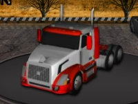 Флеш игра Миссии на грузовике 3D