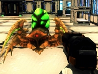 Флеш игра Миссия космического десантника