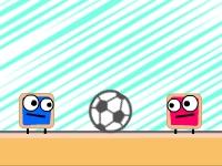 Флеш игра Мистер Пирог играет в футбол