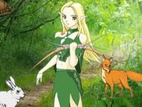 Флеш игра Мистический лес: Поиск чисел