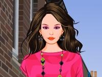 Флеш игра Модная городская девушка