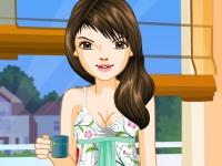 Флеш игра Модная пижама для Вики
