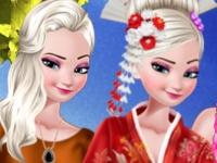 Флеш игра Модный блогер Эльза