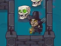 Флеш игра Могильщик на кладбище