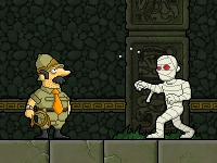 Флеш игра Мои соседи - мертвецы 3