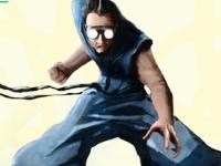 Флеш игра Молниеносный Рэй: Научный ниндзя
