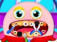 Флеш игра Монстрик у стоматолога