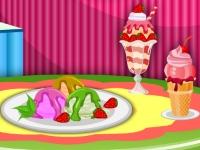 Флеш игра Мороженое в летнем кафе