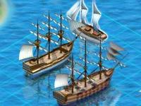 Флеш игра Морской бой: начало