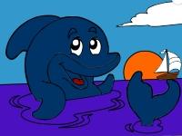 Флеш игра Морской пейзаж