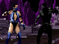 Флеш игра Мортал комбат: кровавая бойня