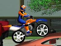 Флеш игра Мотоцикл-внедорожник 3