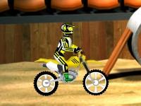 Флеш игра Мотоцикл-внедорожник