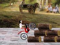 Флеш игра Мотогонки на старой ферме