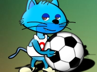 Флеш игра Мой кот чемпион