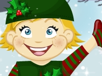 Флеш игра Моя Рождественская кукла