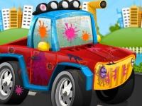 Флеш игра Мойка и дизайн машин