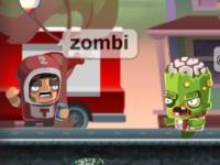 Флеш игра Мозги для зомби