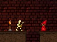 Флеш игра Мрачное подземелье