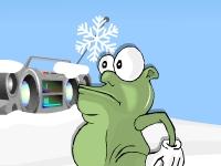 Флеш игра Мунк - снегоед