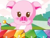 Флеш игра Музыкальная свинка