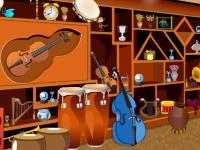 Флеш игра Музыкальный магазин: Поиск предметов