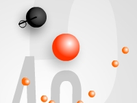 Флеш игра Мяч на резинке