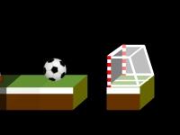 Флеш игра Мяч в ворота