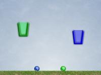 Флеш игра Мячи в корзинах