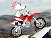 Флеш игра Мышь на байке