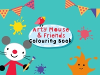 Флеш игра Мышка и друзья: Раскраска