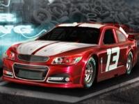 Флеш игра NASCAR парковка