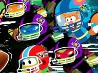 Флеш игра NICKELODEON: Звезды американского футбола
