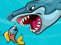 Флеш игра Накорми акулу