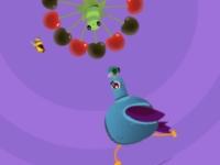 Флеш игра Накорми голубя
