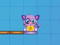 Флеш игра Накорми кота