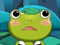 Флеш игра Накорми принцессу-лягушку