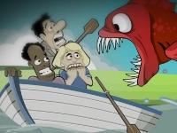 Флеш игра Накорми меня: Потерянный остров