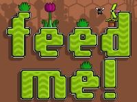Флеш игра Накорми растение